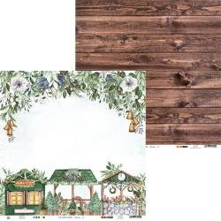 The Four Seasons-Winter Double-Sided Cardstock 12X12 #02