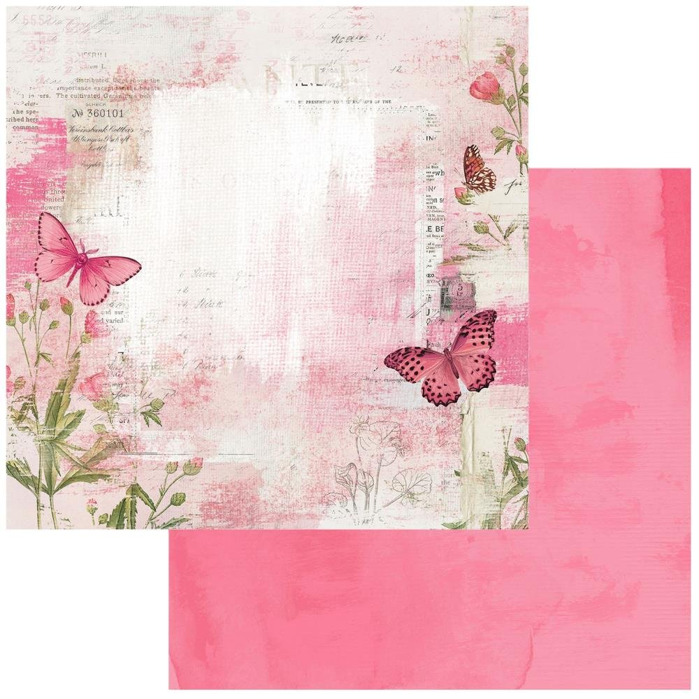 49 And Market Vintage Artistry Blush Double-Sided Cardstock 12X12 Soaring