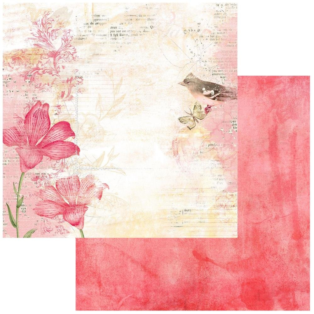49 And Market Vintage Artistry Blush Double-Sided Cardstock 12X12 Poised