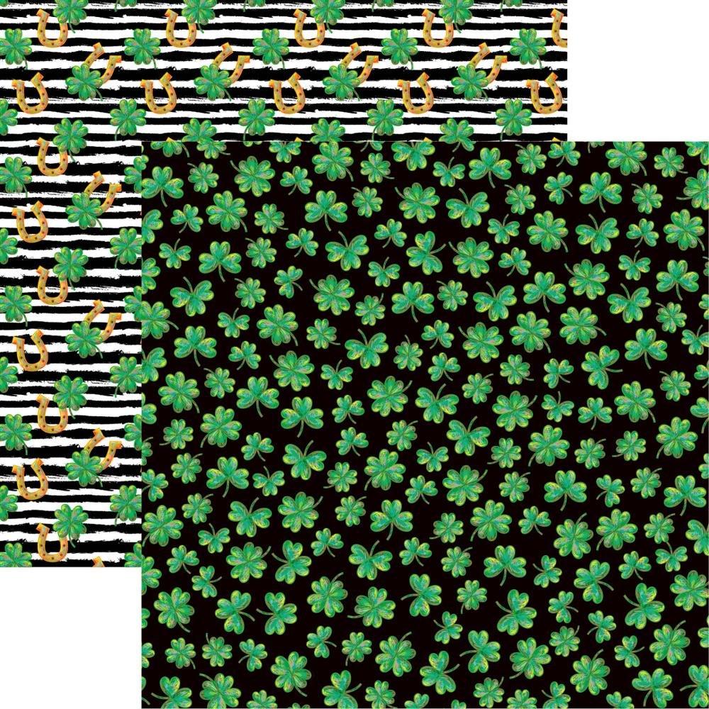 Reminisce Lucky Irish Double-Sided Cardstock 12X12 Lucky Irish Lucky Irish Double-Sided Cardstock 12X12 Lucky Irish Double-Sided Cardstock 12X12 Lucky Irish