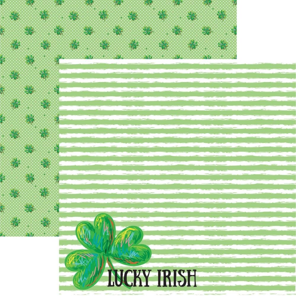 Reminisce Lucky Irish Double-Sided Cardstock 12X12 Lucky Day