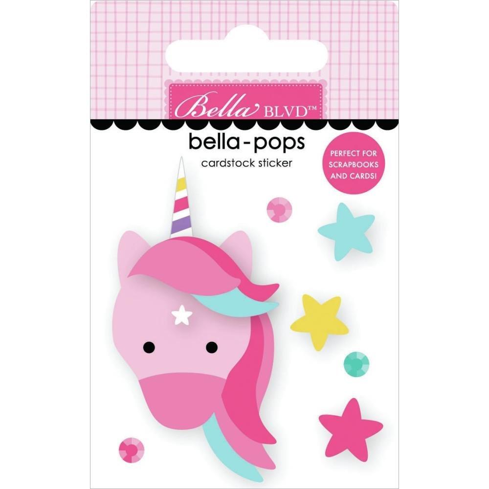 My Candy Girl Bella-Pops 3D Stickers-Unicorn Magic