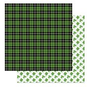 Tulla & Norbert's Lucky Charm Double-Sided Cardstock 12X12 Bagpipes