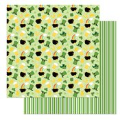 Tulla & Norbert's Lucky Charm Double-Sided Cardstock 12X12 Lucky Charm