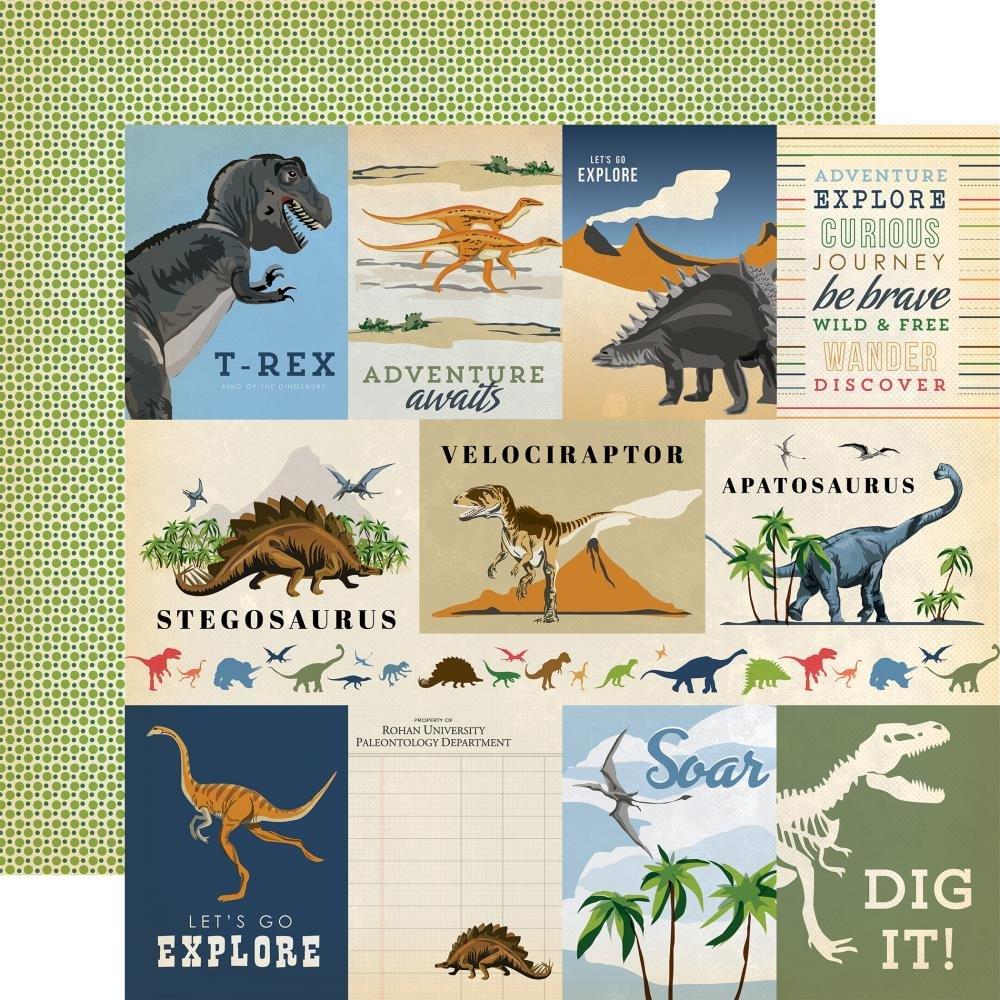 CB Dinosaurs 3x4 Journaling cards