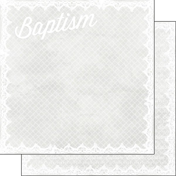 Baptism Double Lace