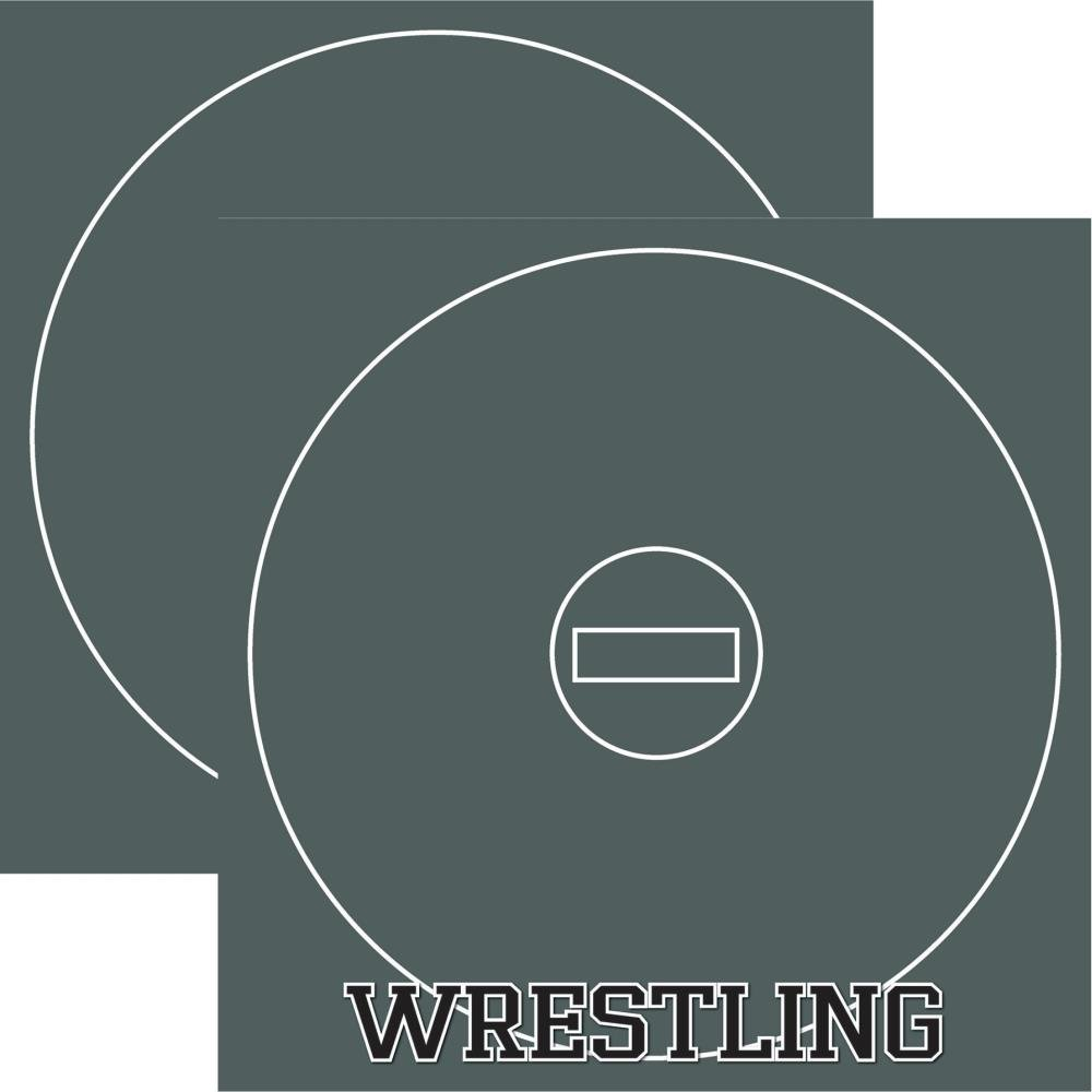 Wrestling Double-Sided Cardstock 12X12-#4