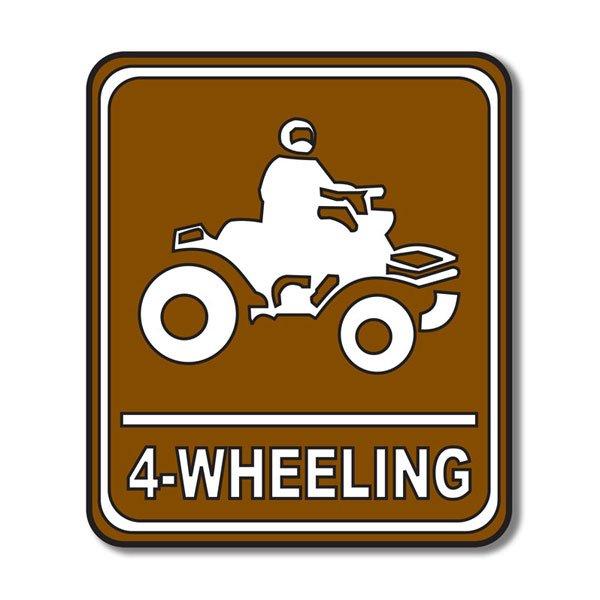 4-Wheeling Sign