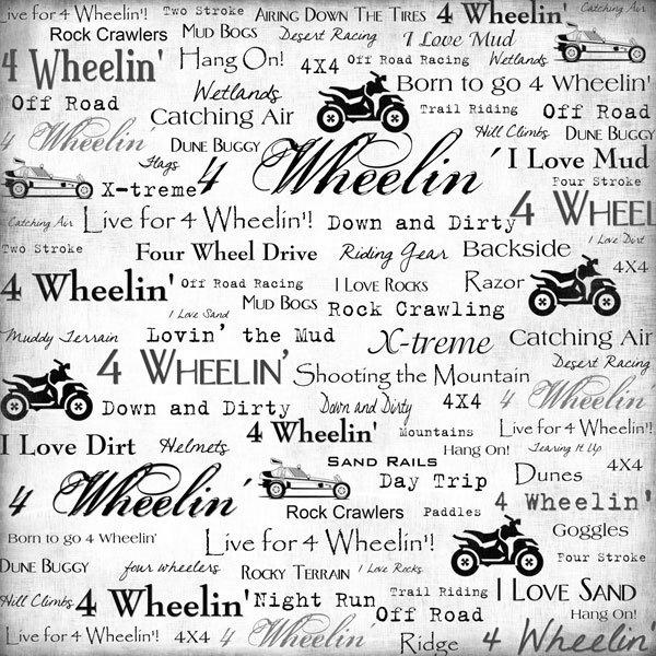 4-Wheeling - Live for