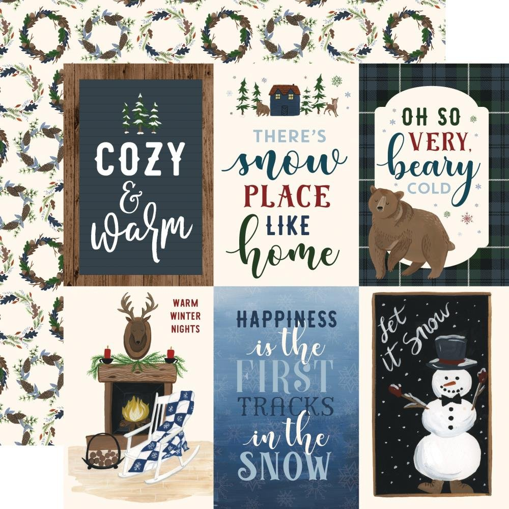 EP Warm & Cozy 4x6 Journaling Cards