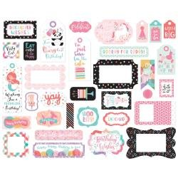 EP It's Your Birthday Girl Frames & Tags
