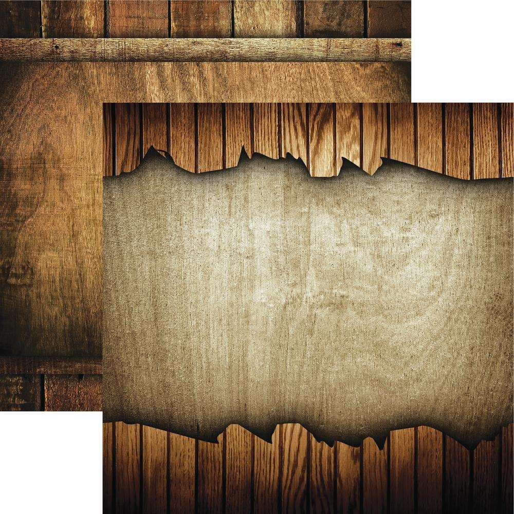 Elegant Woods Double-Sided Cardstock 12X12 #6