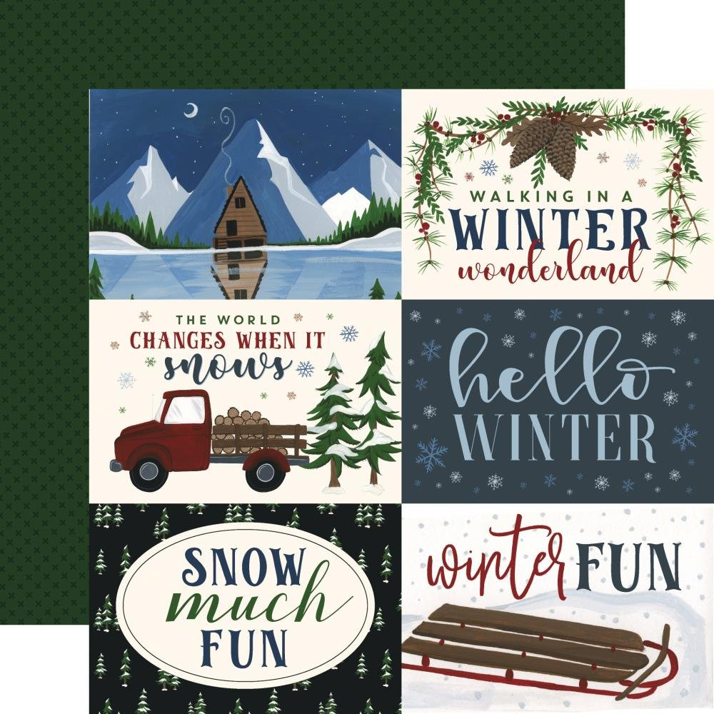 EP Warm & Cozy 6x4 Journaling Cards