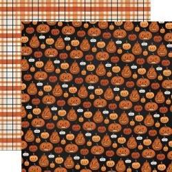 Halloween Market Double-Sided Cardstock 12X12-Pumpkins
