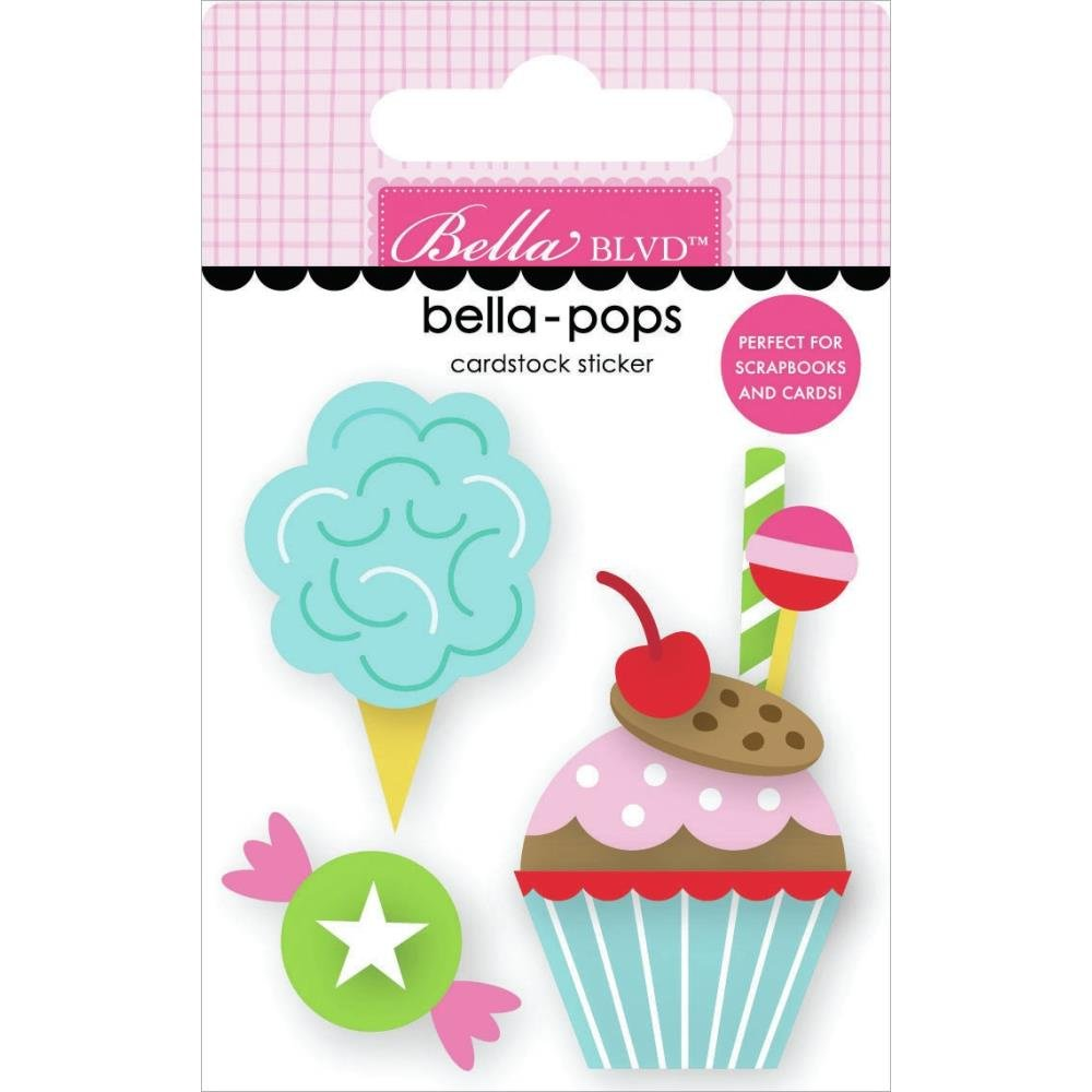 My Candy Girl Bella-Pops 3D Stickers-Sugar! Sugar!