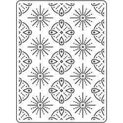 Tribal Background Embossing