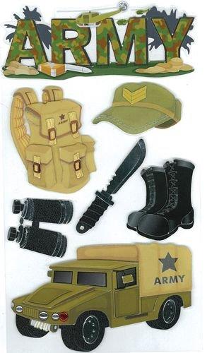 Army Sticker Sheet