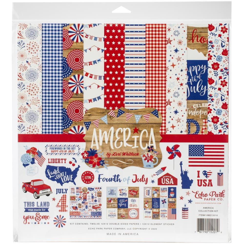 America Echo Park Collection Kit 12X12