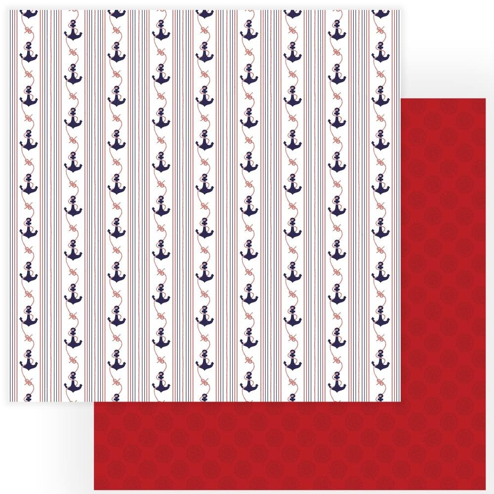 Monterey Bay Double-Sided Cardstock 12X12-Anchors
