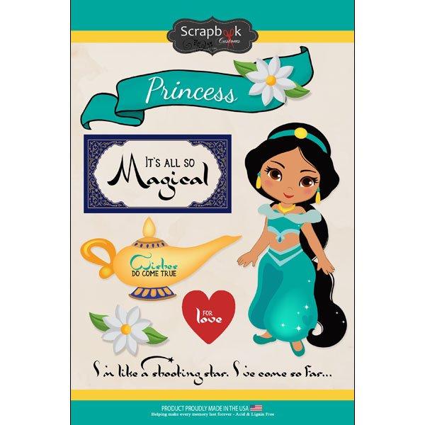 Arabian Princess Sticker