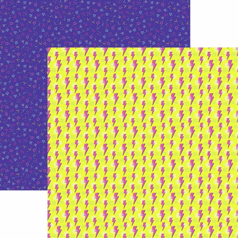 90's Flashback Double-Sided Cardstock 12X12 Back to the 90's