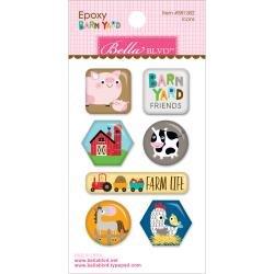 Barn Yard Epoxy Icons
