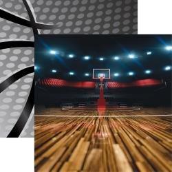 Basketball Three Pointer Paper