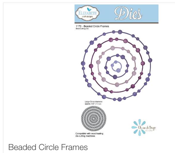 Beaded Circle Frames