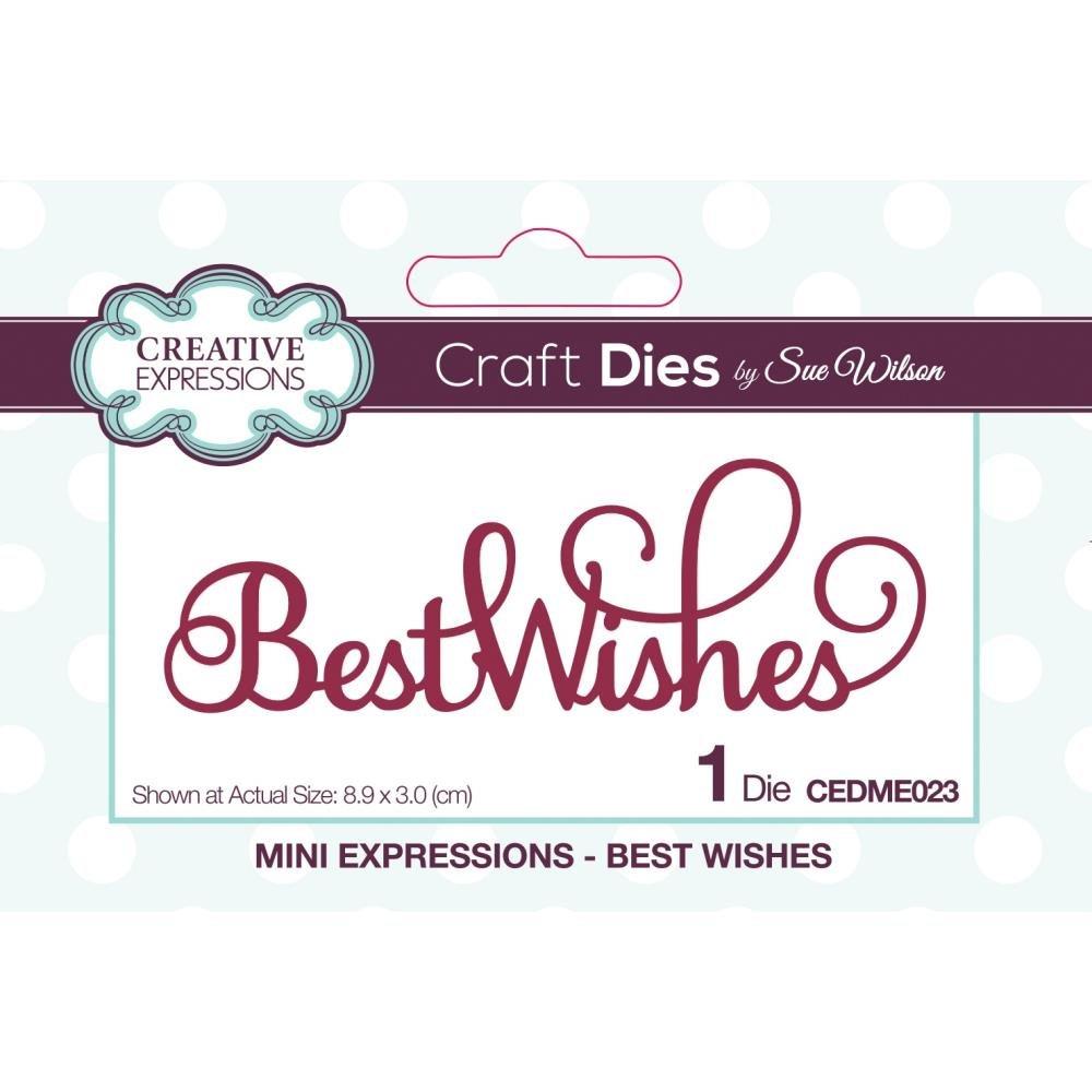 CE Best Wishes Dies
