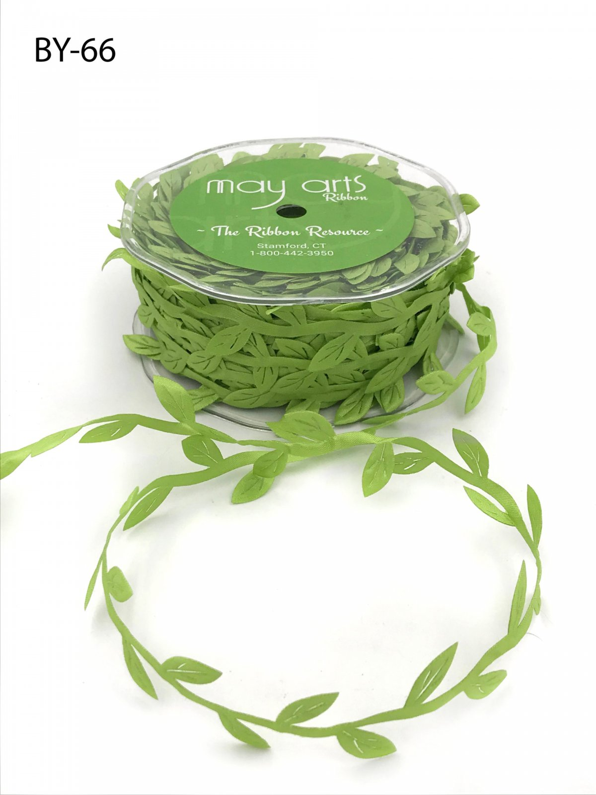 3/4 Inch Classic Leaves Ribbon Parrot