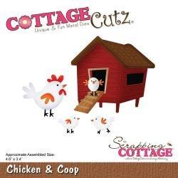 Cottage Cutz Chickens & Coop