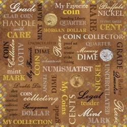 Coin Collection Collage