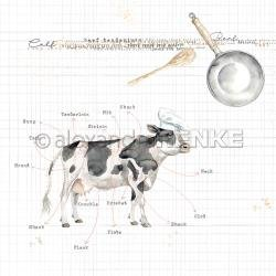 Cooking Paper Cow