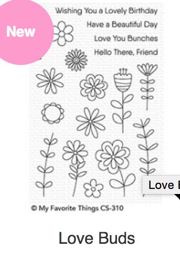 MFT Love Buds  Stamps