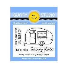 Happy Camper Stamp