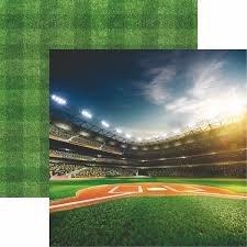 Baseball Bright Lights Paper