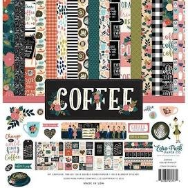 Echo Park Collection Kit 12X12-Coffee