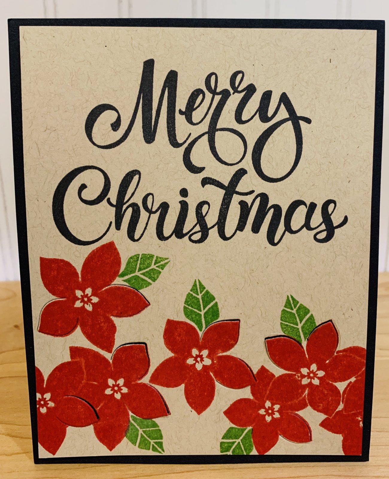 Merry Christmas Card Sample