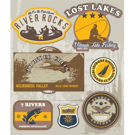 Lake & Water Activities Stickers