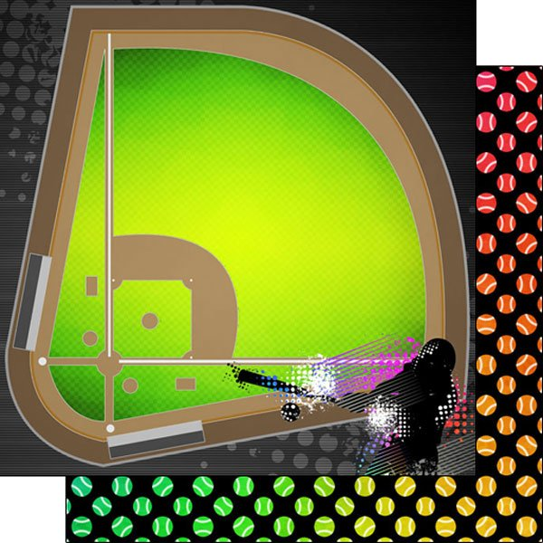 Baseball Neon 3