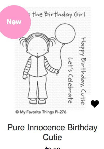 MFT Birthday Cutie Stamp & Die Set