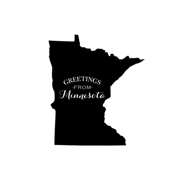 Card Craft Greetings From Minnesota