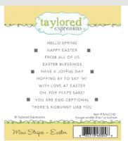 TE Stamp Mini Strips Easter