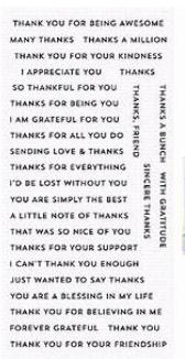 MFT Stamp Bitty Thanks & Gratitude
