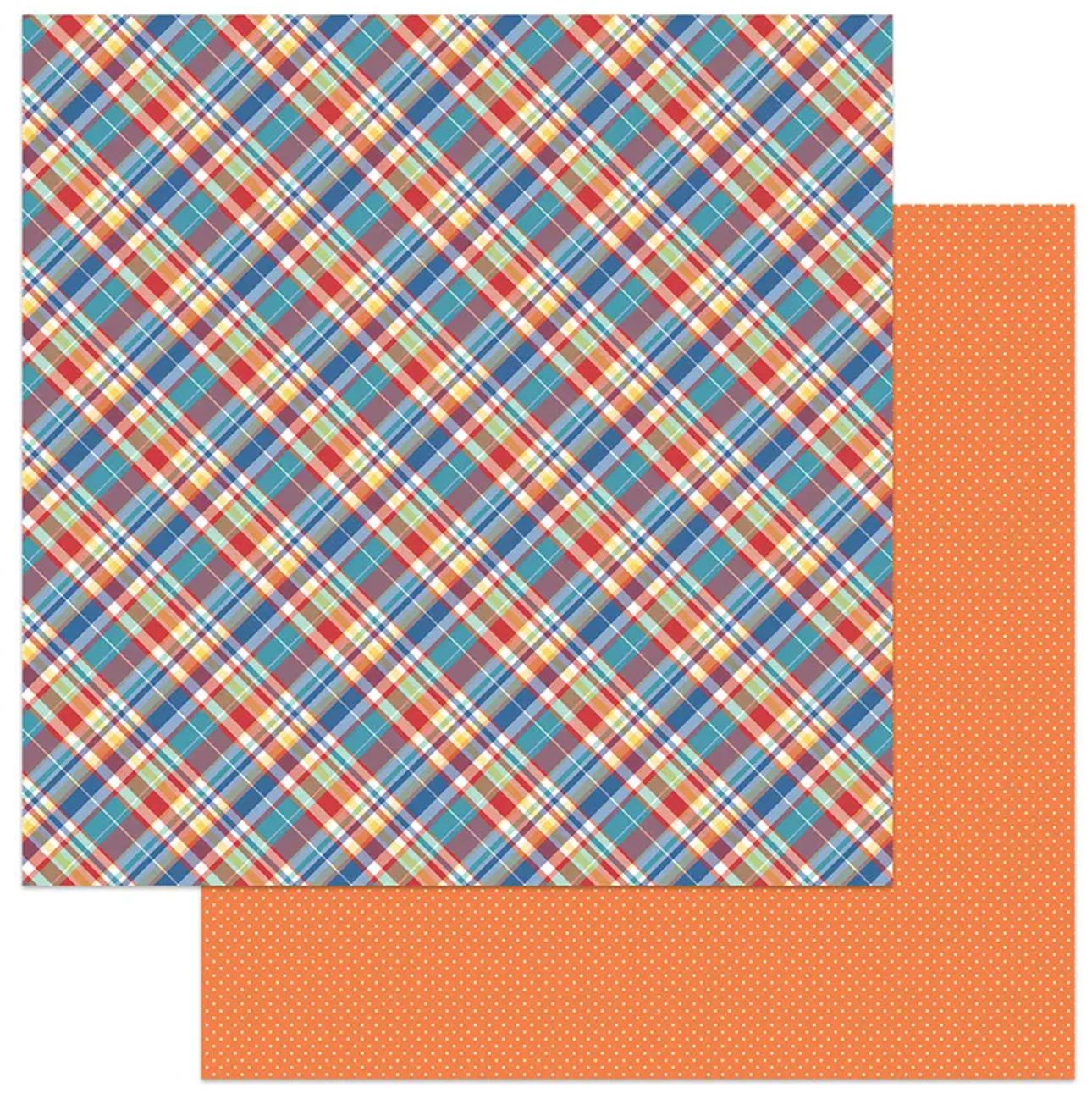PhotoPlay Living The Quarantine Life Double-Sided Cardstock 12X12-Plaid19