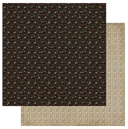 Authentique Hunting Double-Sided Cardstock 12X12 #2 Elk/Bird