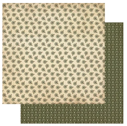 Authentique Hunting Double-Sided Cardstock 12X12 #3 Target