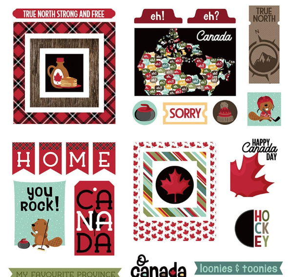 PhotoPlay O Canada 2 Dies Paper