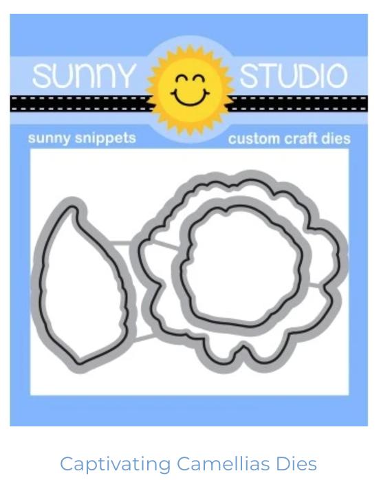 Sunny Studio Captivating Camellias Die