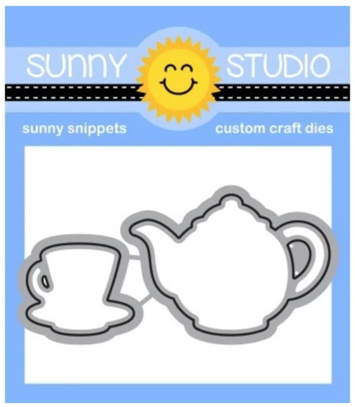 Sunny Studio Die Tea-riffic